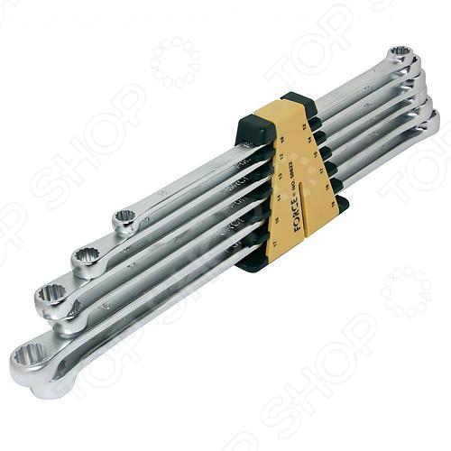 Набор ключей накидных экстрадлинных Force F-50622