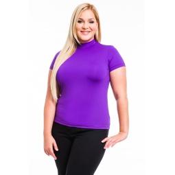 фото Водолазка Mondigo XL 216. Цвет: фиолетовый. Размер одежды: 50