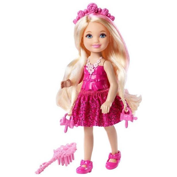 фото Кукла Mattel «Челси - блондинка с длинными волосам»