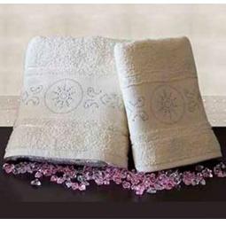 Купить Набор из 2-х полотенец для ванной TURKIZ 2КТ-0021/2