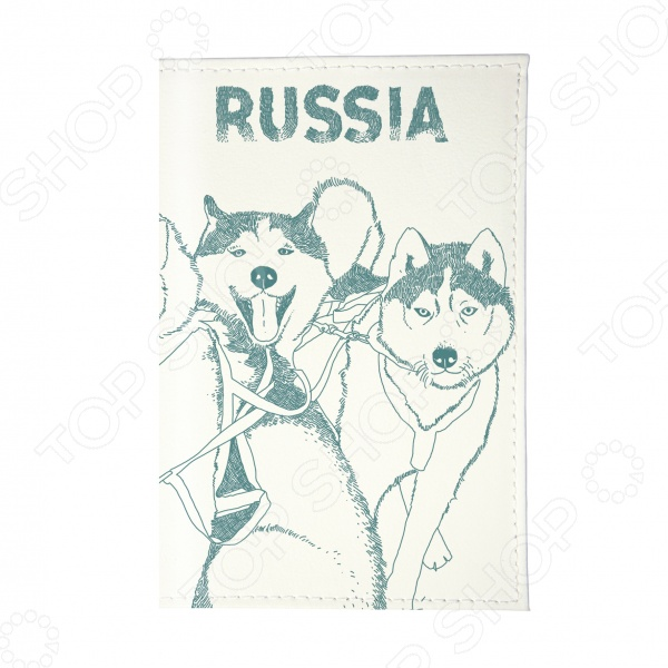 Визитница Mitya Veselkov «Сибирские хаски»