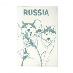 фото Визитница Mitya Veselkov «Сибирские хаски»