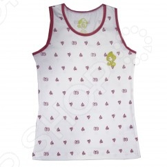 Комплект нижнего белья для девочки: майка и трусы Monster High. Apple White