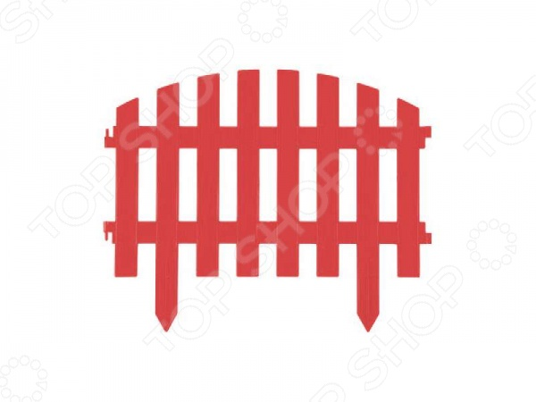 Забор декоративный Grinda «Ар Деко» 422203 Забор декоративный Grinda 422203-T /Терракотовый