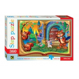 фото Пазл 360 элементов Step Puzzle Кот в сапогах