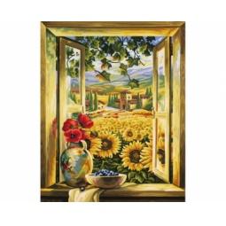 Купить Набор для рисования по номерам Schipper «Поле подсолнухов»