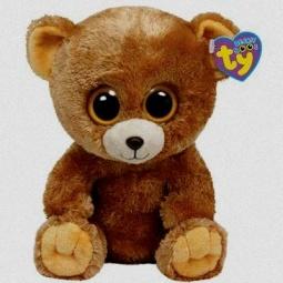 фото Мягкая игрушка TY Медведь HONEY. Высота: 33 см
