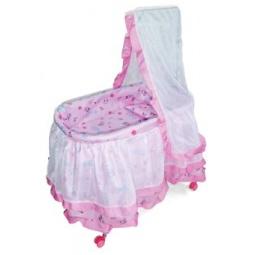 фото Кроватка для кукол Mary Poppins с балдахином 67053. В ассортименте