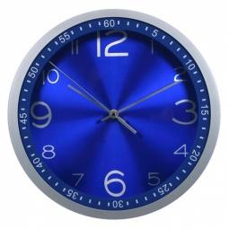фото Часы настенные Бюрократ WALLC-R05P. Цвет: голубой