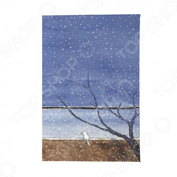 Обложка для паспорта Mitya Veselkov «Котик под деревом» обложки mitya veselkov обложка для автодокументов котик под деревом
