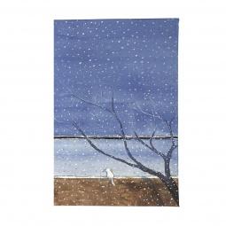 фото Обложка для паспорта Mitya Veselkov «Котик под деревом»