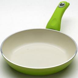 фото Сковорода с керамическим покрытием Mayer&Boch MB. Цвет: зеленый. Диаметр: 26 см