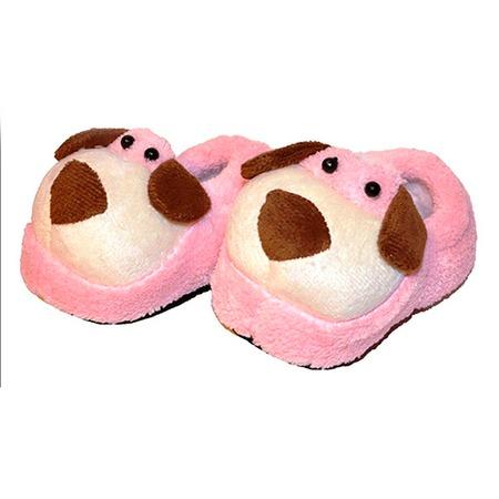 Купить Пинетки HOBBY LINE «Собака» ЯВ116017. Цвет: розовый