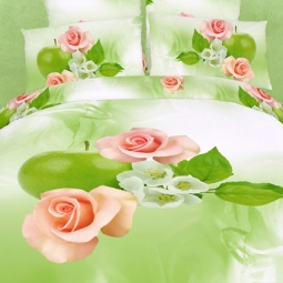 фото Комплект постельного белья Domomania Probugdenie. Satin Fotoprint. 2-спальный