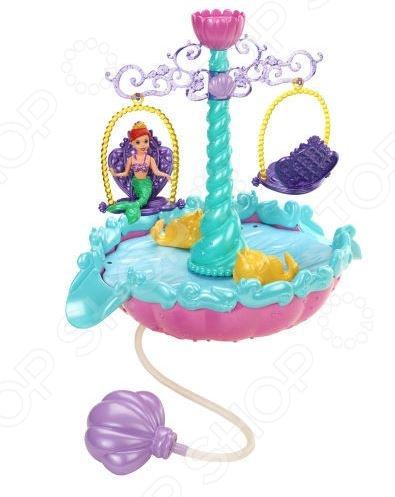 Набор подарочный Mattel «Мини-замок Мериды и Фонтан Ариэль». В ассортименте