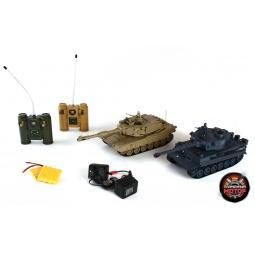 фото Набор на дистанционном управлении Пламенный Мотор «Танковый бой» TIGER vs Abrams M1A2
