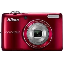 фото Фотокамера цифровая Nikon CoolPix L26. Цвет: красный