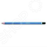 Карандаш простой Erich Krause Atlantis это чернографитный карандаш. Этот канцелярский предмет пригодится и ученикам в школе, и офисным работникам, и любителям рисовать. Пишущий стержень карандаша вставлен в деревянную оправу. Карандаш легко затачивается, а грифель не ломается.