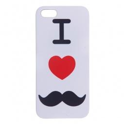 Купить Чехол для iPhone 5 Mitya Veselkov I love «усики» IP5