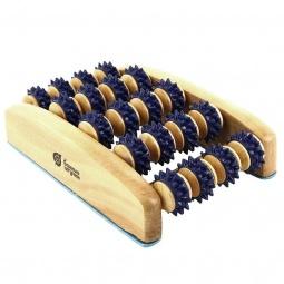 фото Массажер деревянный роликовый для ног Банные штучки