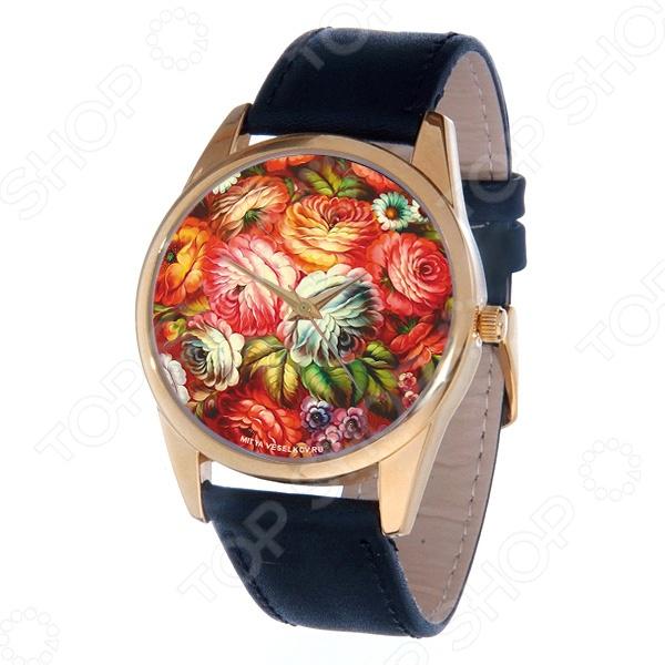 Часы наручные Mitya Veselkov «Жостово-2» Gold часы наручные mitya veselkov now gold