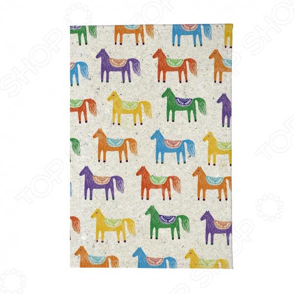 Обложка для паспорта Mitya Veselkov «Цветные лошадки»
