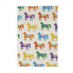 фото Обложка для паспорта Mitya Veselkov «Цветные лошадки»