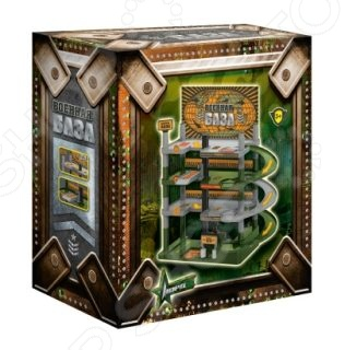 Набор игровой для мальчика Нордпласт «Военная база» игровые наборы veld co игровой набор военная база 1 64