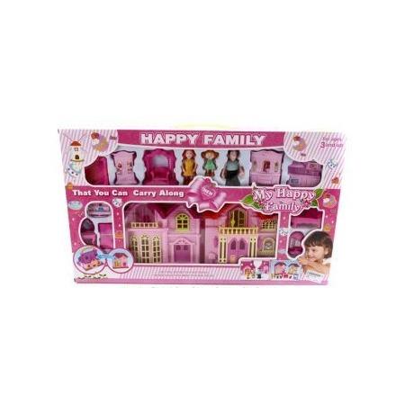 Купить Кукольный дом с аксессуарами Shantou Gepai 628746