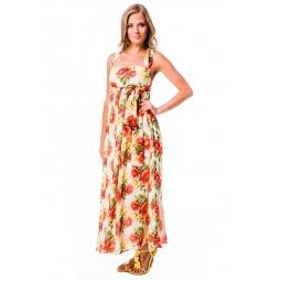 фото Платье Mondigo 5103. Цвет: коралловый. Размер одежды: 42