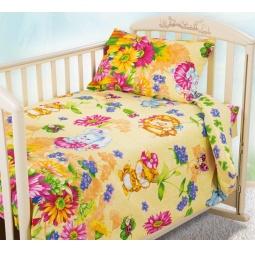 фото Ясельный комплект постельного белья Бамбино «Летнее утро»