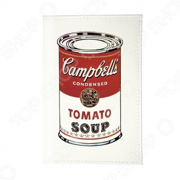 Обложка для паспорта Mitya Veselkov Tomato soup tomato soup oversized sweatshirt