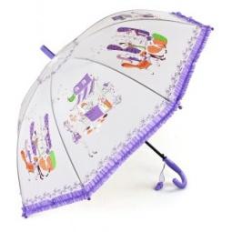 фото Зонтик детский Mary Poppins «Модница». Цвет: фиолетовый