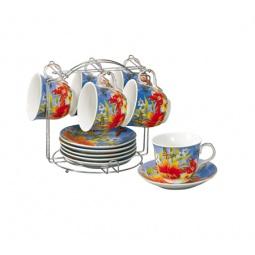 фото Чайный набор на подставке Grazie «Лето»