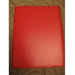 фото Папка с 40 файлами Erich Krause Standard. Цвет: красный