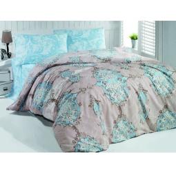 фото Комплект постельного белья Casabel Empire. 1,5-спальный. Цвет: голубой