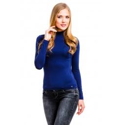 фото Водолазка Mondigo 264. Цвет: темно-синий. Размер одежды: 44