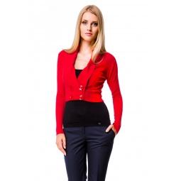 фото Жакет Mondigo 9467. Цвет: красный. Размер одежды: 42