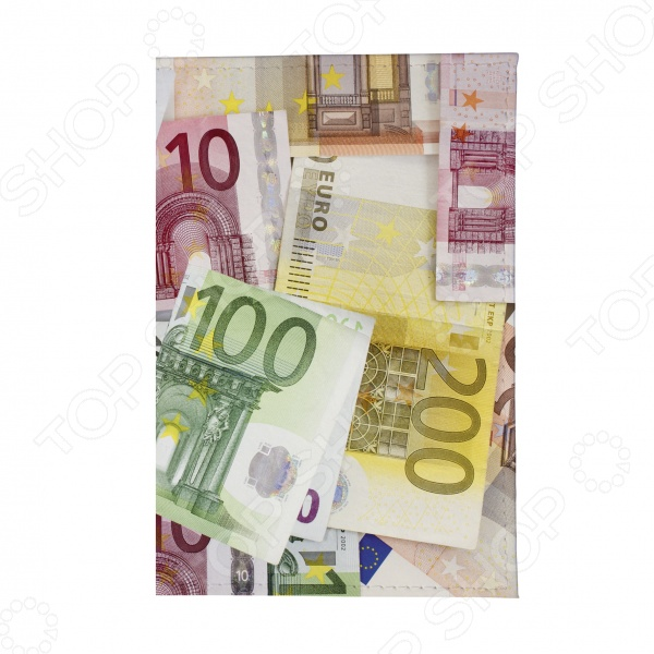 Визитница Mitya Veselkov «Евро»
