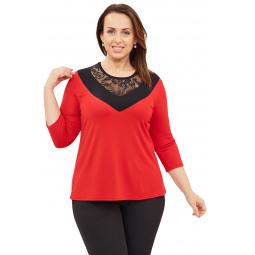 Блуза Матекс «Теплые лучи». Цвет: красный
