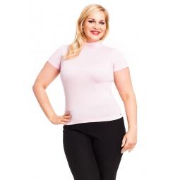 фото Водолазка Mondigo XL 037. Цвет: бледно-розовый. Размер одежды: 52