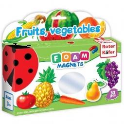 фото Игра развивающая на магнитах Roter Kofer «Фрукты, овощи» RK2101-04