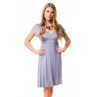 Фото Платье Mondigo 8597. Цвет: серый. Размер одежды: 44