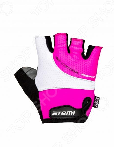 Перчатки велосипедные Atemi AGC-07. Цвет: розовый