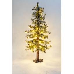 Купить Ель искусственная Crystal Trees «Закарпатская с маленькими шишками» 1695456