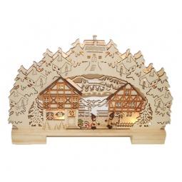 фото Декорация рождественская Star Trading «Вечерний дворик»