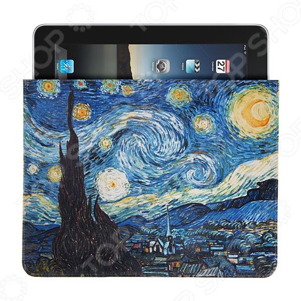 Чехол для iPad Mitya Veselkov «Звездная ночь. Ван Гог» футболка print bar ван гог