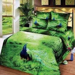 фото Комплект постельного белья АртПостель «Павлин». 1,5-спальный