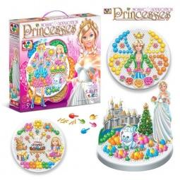 фото Мозаика с аппликацией Toys Union «Принцесса» 10525
