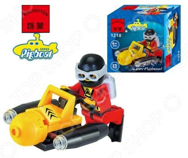 Конструктор игровой Brick «Подводный скутер» 1717078 скутер